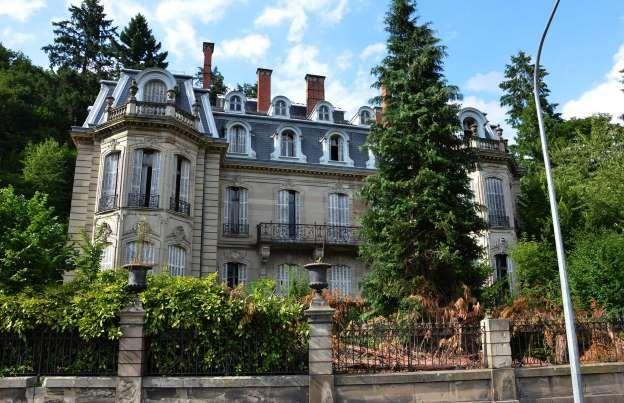 Sainte-Croix-aux-Mines, França - Château Burrus