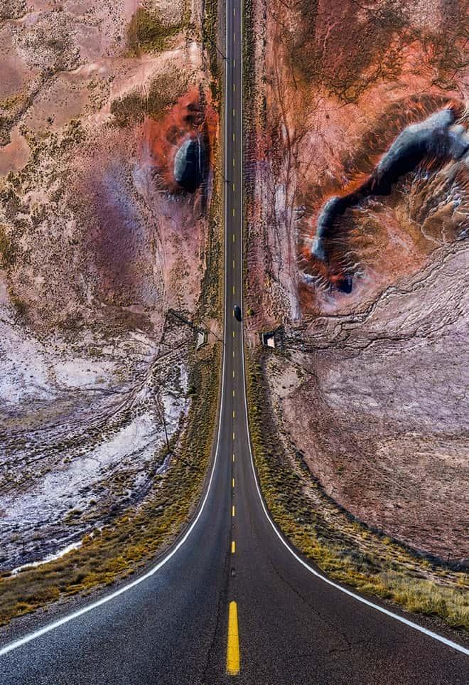 화성으로 향하는 고속도로
