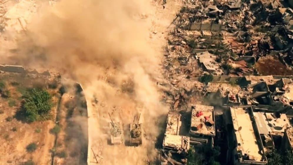시리아 내전을 포착한 사진