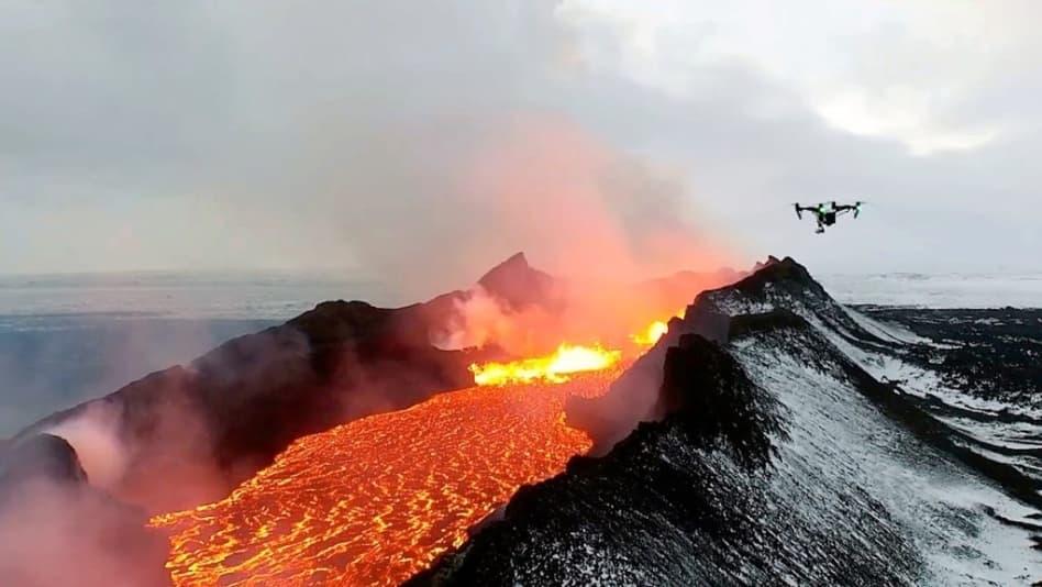 불을 내뿜는 호수