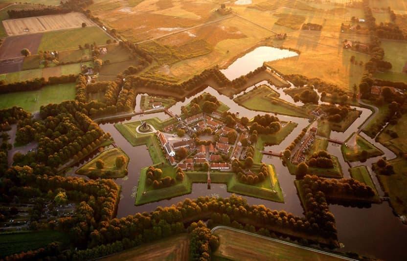 네덜란드의 별모양 요새