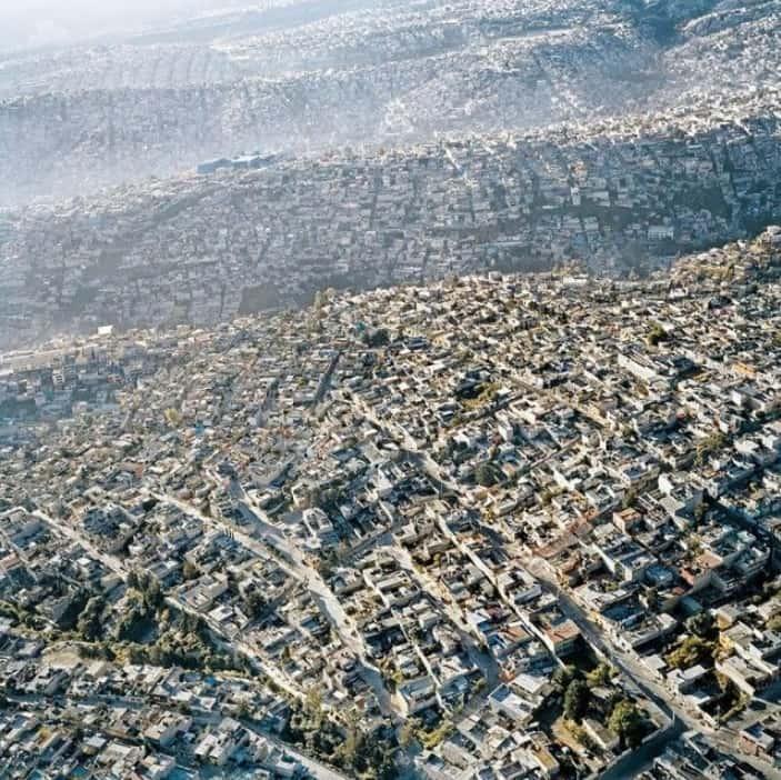 멕시코 시티의 전경