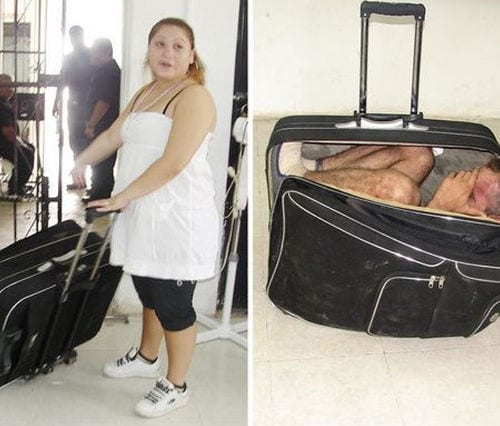 In Her Luggage