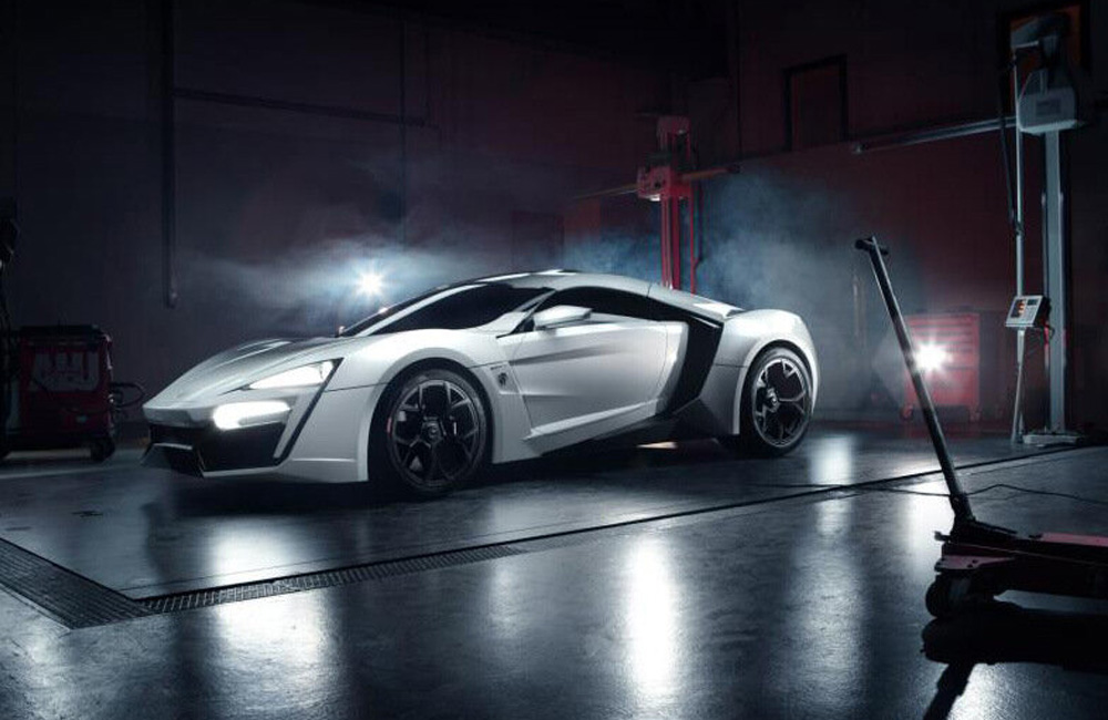 2012 W Motors Lykan HyperSport