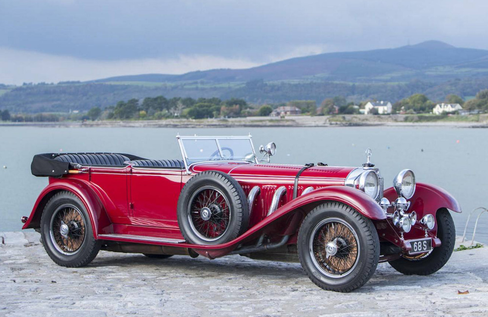 1928 Mercedes Benz S Type 26 120 180 Sports Tourer