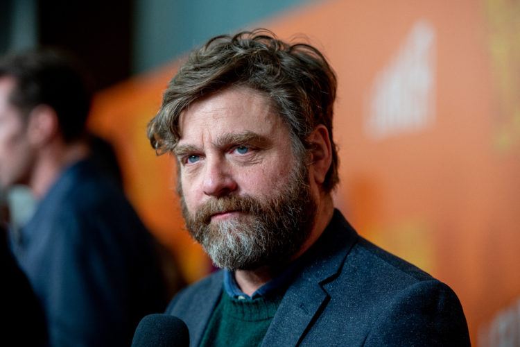 Zach Galifianakis — 5 Feet 7 Inches