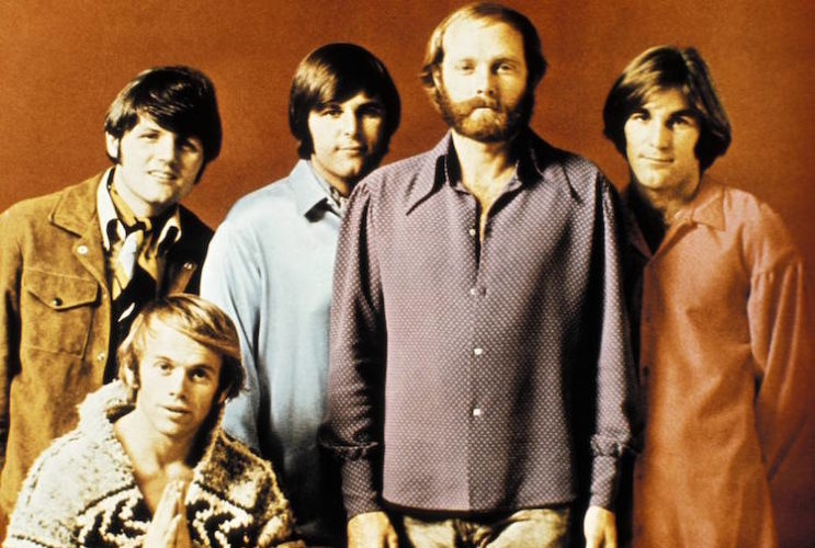 Photo Of Carl WILSON And Mike LOVE And Bruce JOHNSTON And Dennis WILSON And BEACH BOYS And Al JARDINE