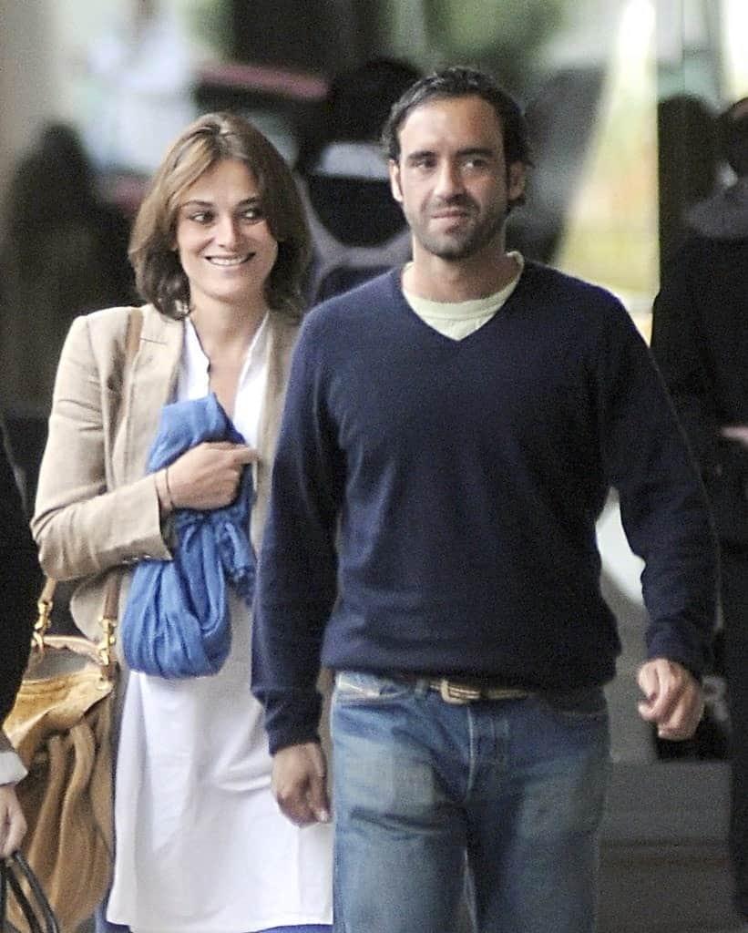 Mario Conde Y Laura Ponte