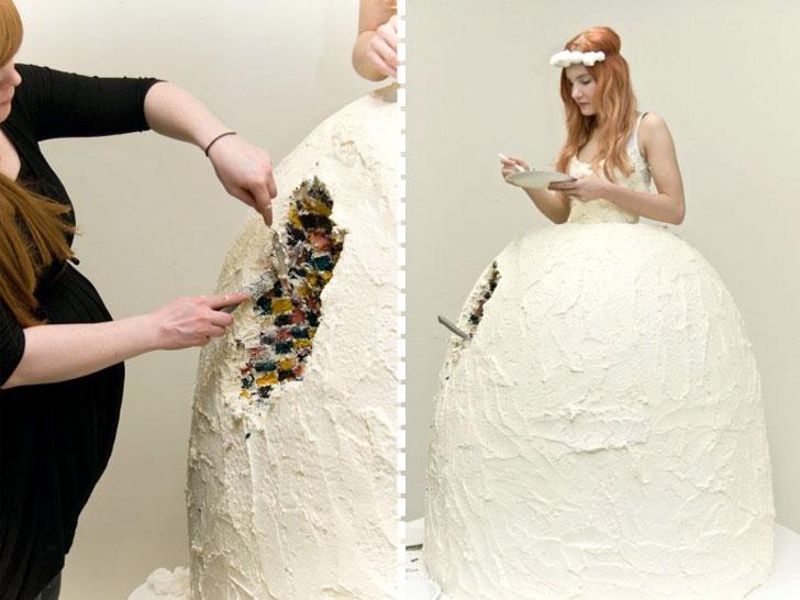 ケーキの一欠片