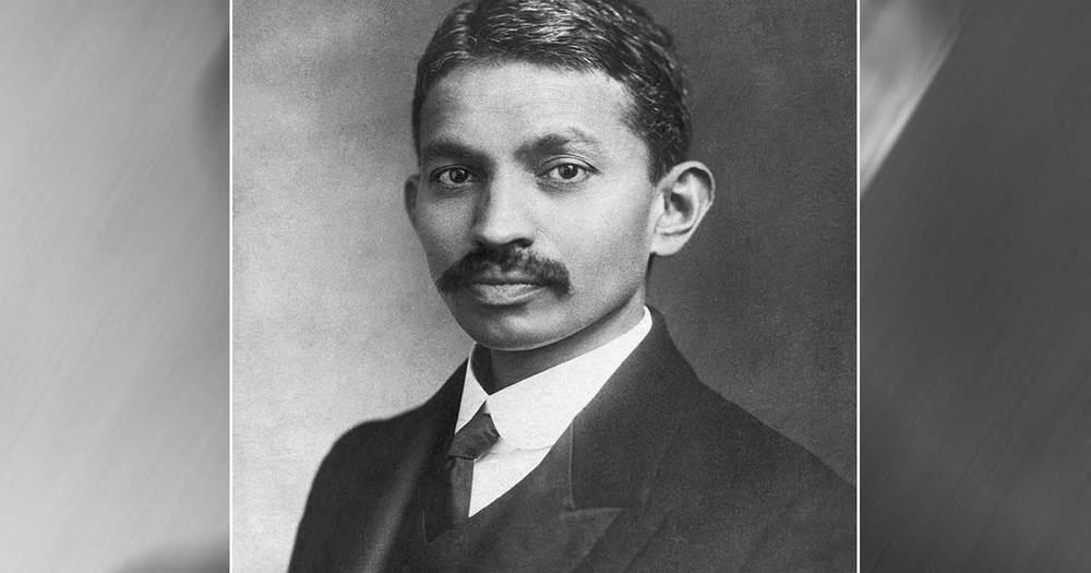 Young Mahatma Gandhi