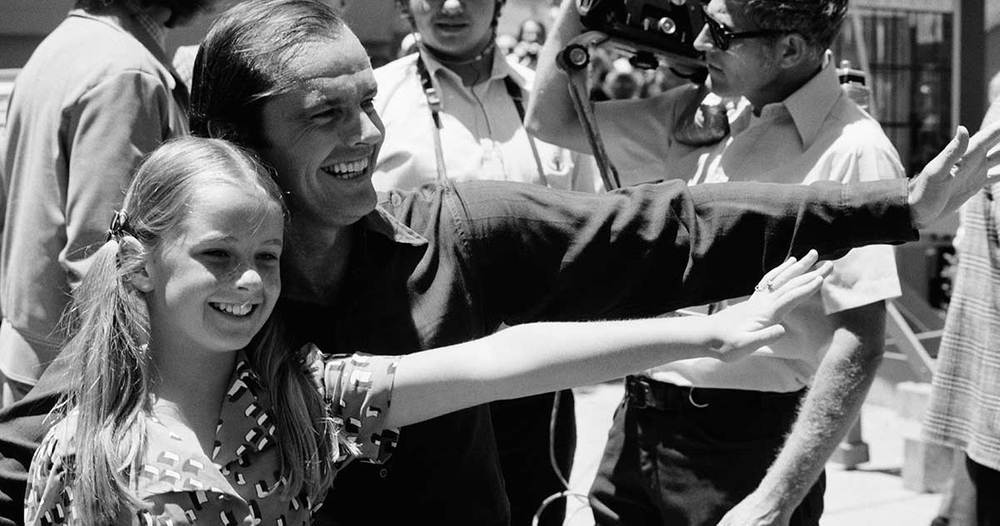 Jack Nicholson And His Daughter