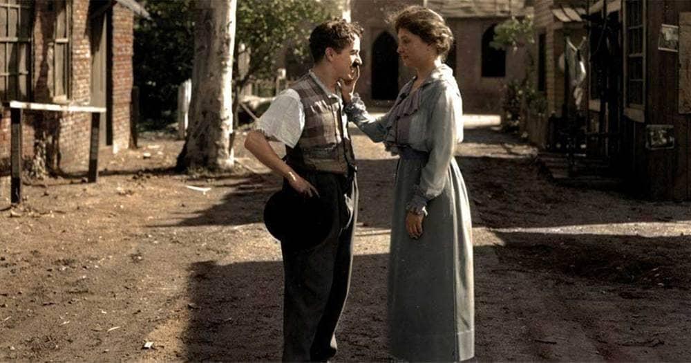 Chaplin Meets Helen Keller