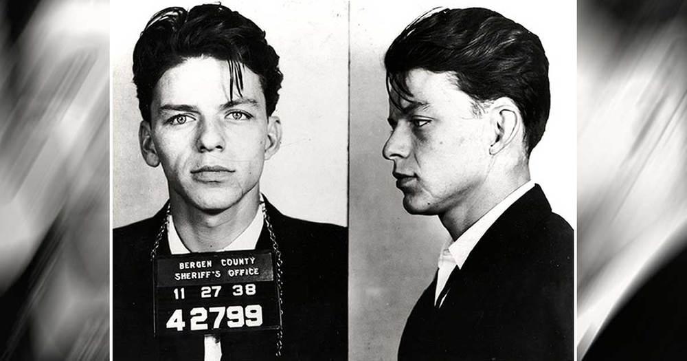 Frank Sinatra's Mug Shot
