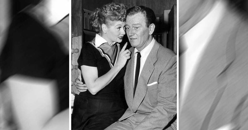John Wayne On 'I Love Lucy'