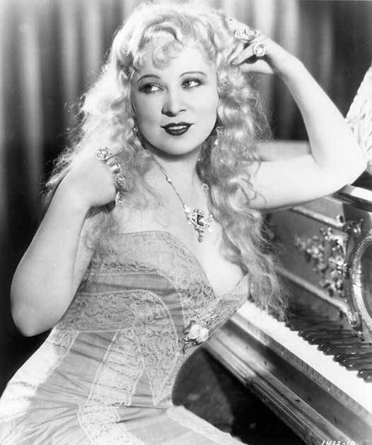 Mae West Strikes A Pose