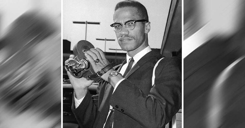 Malcolm X Visits London
