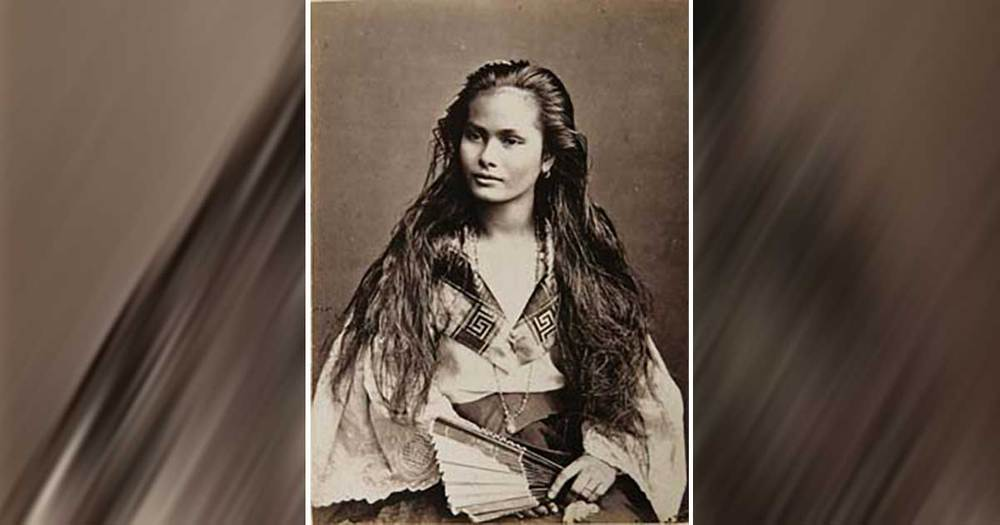 Mixed Race Filipino Woman, 1875