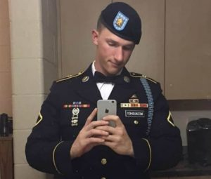 Brandon e la sua carriera da militare