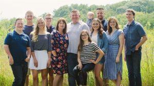 La famiglia al completo oggi