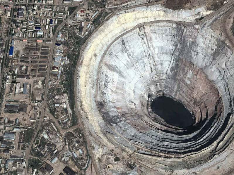 Sibirya'da ki Mir Madeni