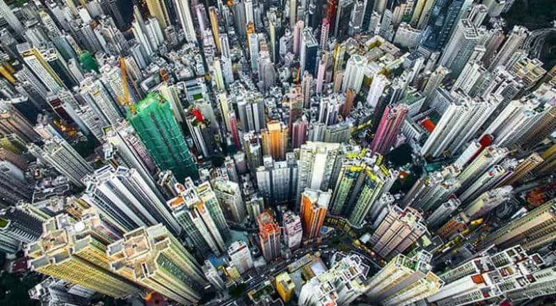 Hong Kong'un Gökdelenleri