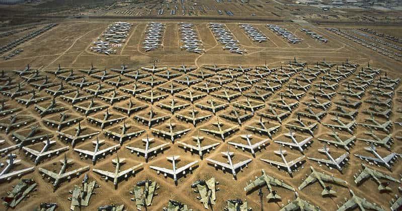 Arizona, ABD'deki Boneyard