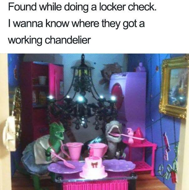 Extravagant Locker Room