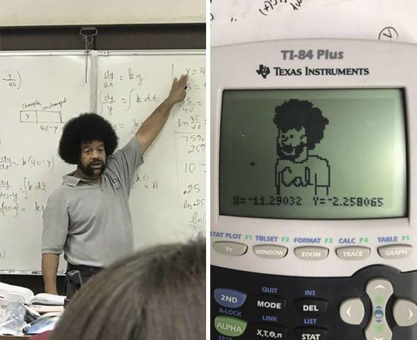 Calculator Portrait