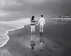 Maggie e Caleb al mare