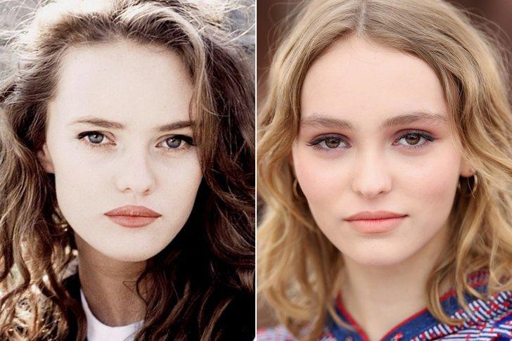 LILY ROSE MELODY DEPP VANESSA PARADIS AT AGE 18