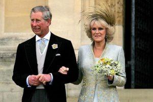 Carlo e Camilla il giorno del loro matrimonio