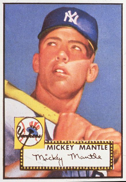 Mickey Mantle – 1952 Topps