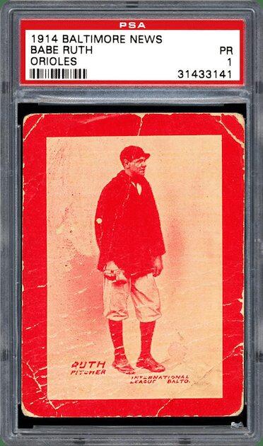 Babe Ruth – 1914 Baltimore News