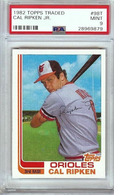 Cal Ripken Jr. – 1982 Topps Traded