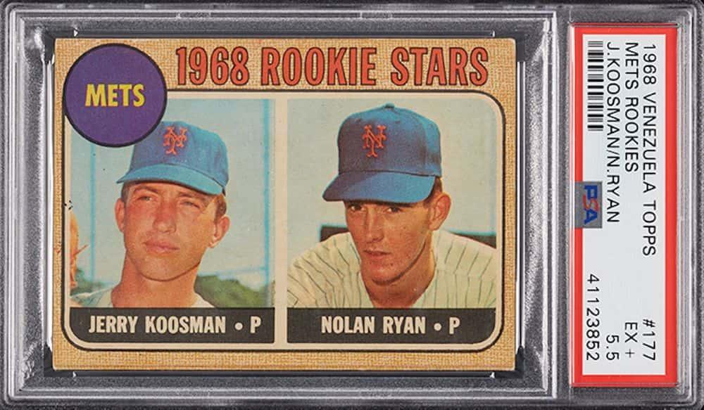 Nolan Ryan Jerry Koosman – 1968 Topps Rookie