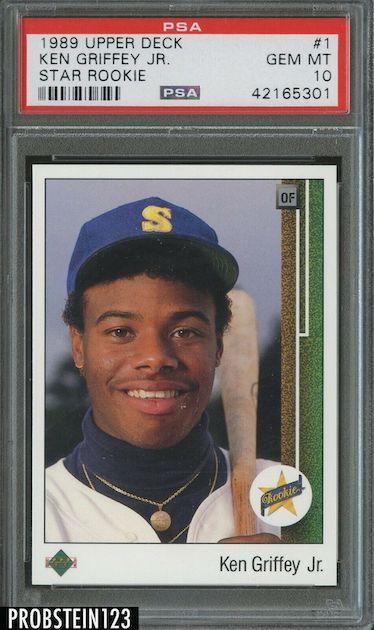 Ken Griffey Jr. – 1989 Upper Deck Rookie