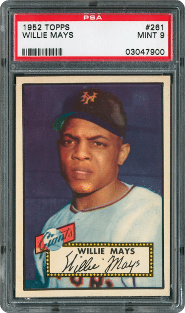 Willie Mays – 1952 Topps