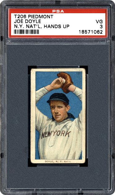 Joe Doyle – 1911 ATC T206