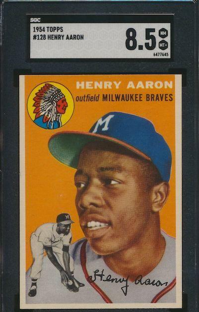 Hank Aaron – 1954 Topps