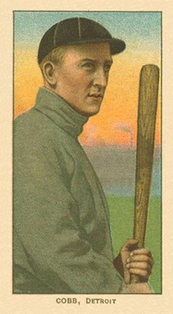 Ty Cobb – 1909 T206 'Bat Off Shoulder'