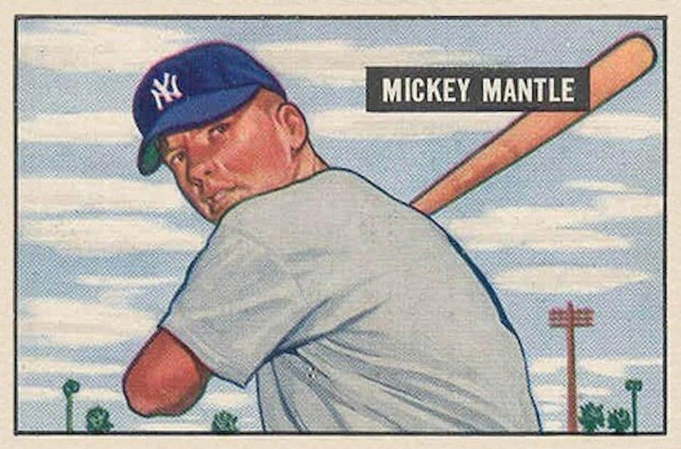 Mickey Mantle – 1951 Bowman