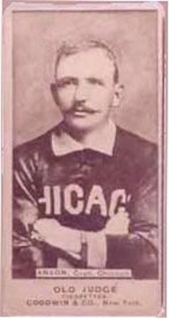 Cap Anson – 1887 Old Judge