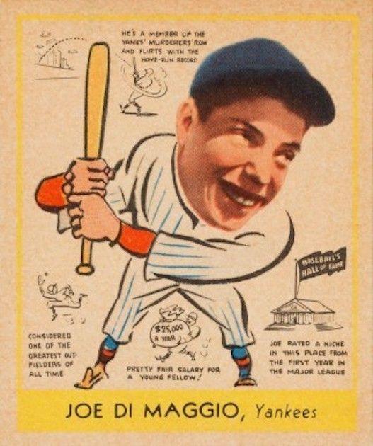 Joe DiMaggio – Goudie 1948