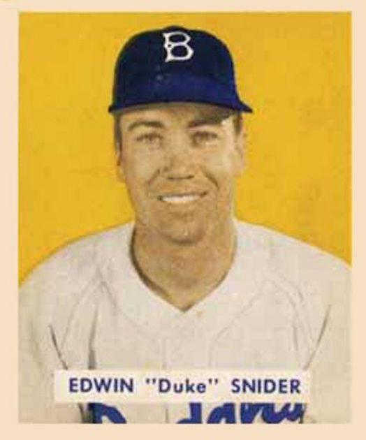 Duke Snider – 1949 Bowman