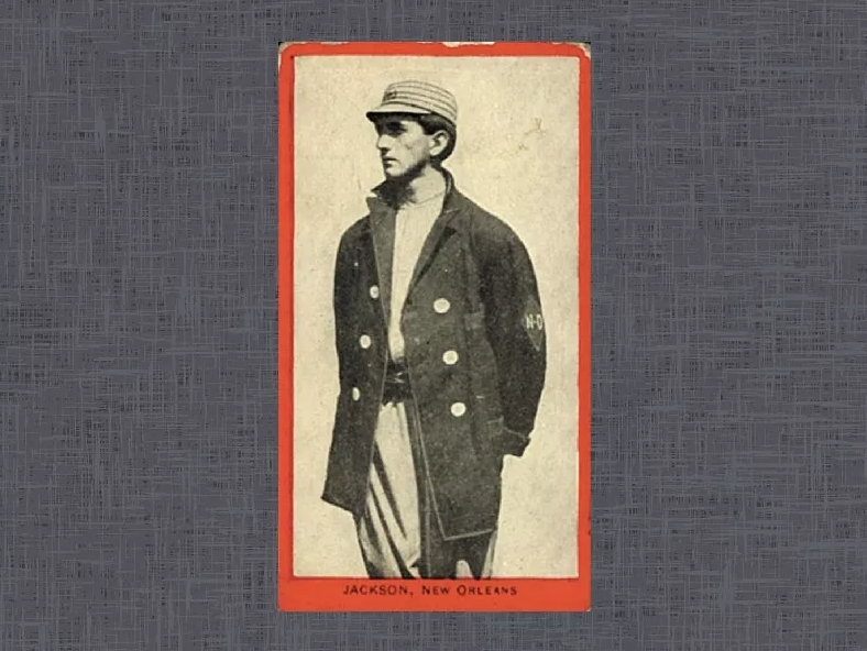1910 T210 Old Mill Joe Jackson