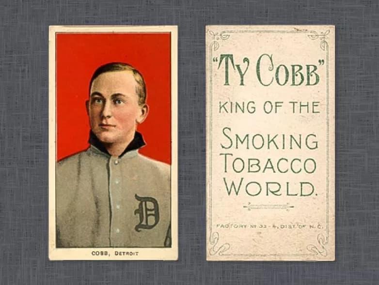 1909 T206 Ty Cobb (Ty Cobb Back)