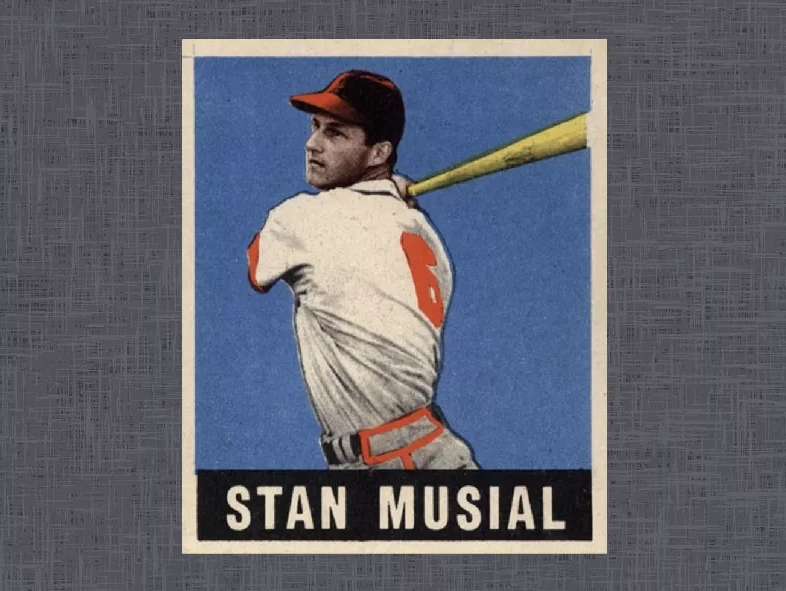 1948 Leaf Stan Musial