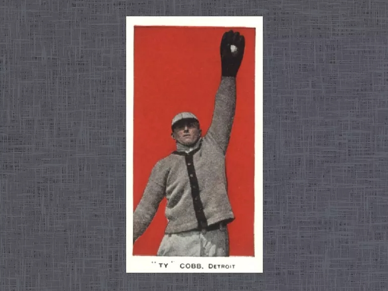 1910 E98 Ty Cobb