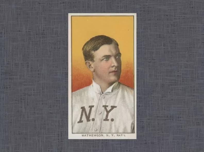 1909 T206 Christy Mathewson