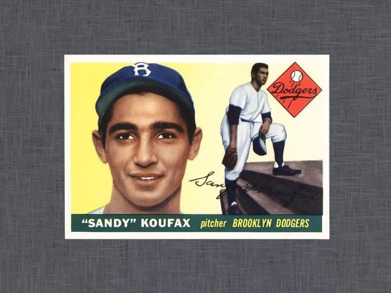 1955 Topps Sandy Koufax